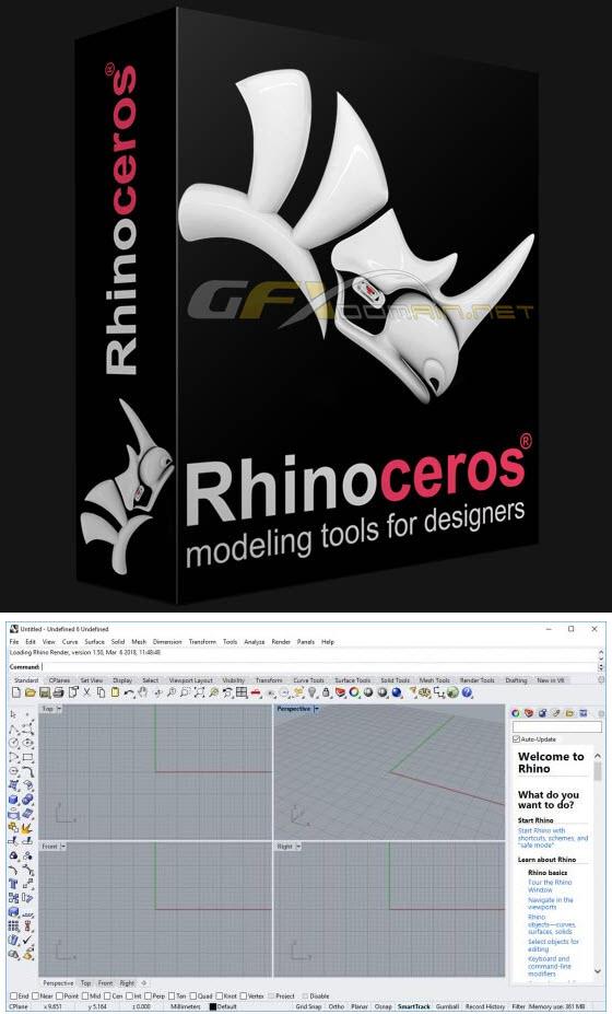 그래픽 툴] Rhinoceros 6 14 19118 15561 다운로드 - 파일썬