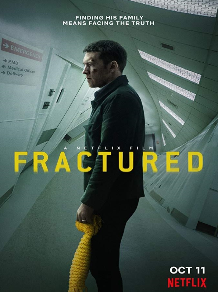 Resultado de imagem para fractured 2019 movie poster