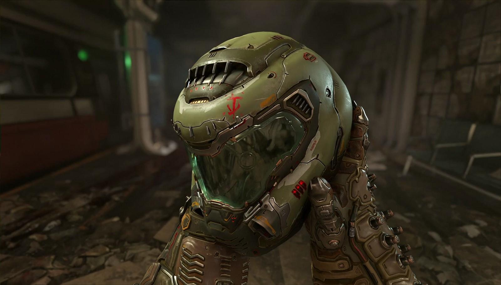 (한글)둠 이터널[DOOM Eternal]액션 FPS 호러 미래 외계 잔인 기계