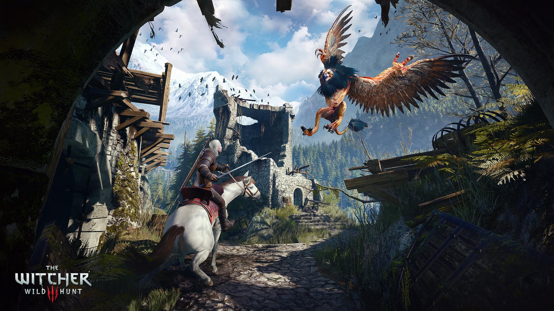 (한글)더 위쳐3(The Witcher 3) DLC블러드 RPG 액션 마법 중세