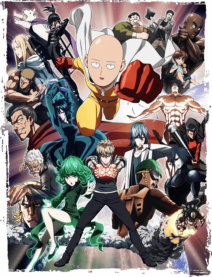 """원펀맨 II OVA - 01 ~06 """"특별편"""""""