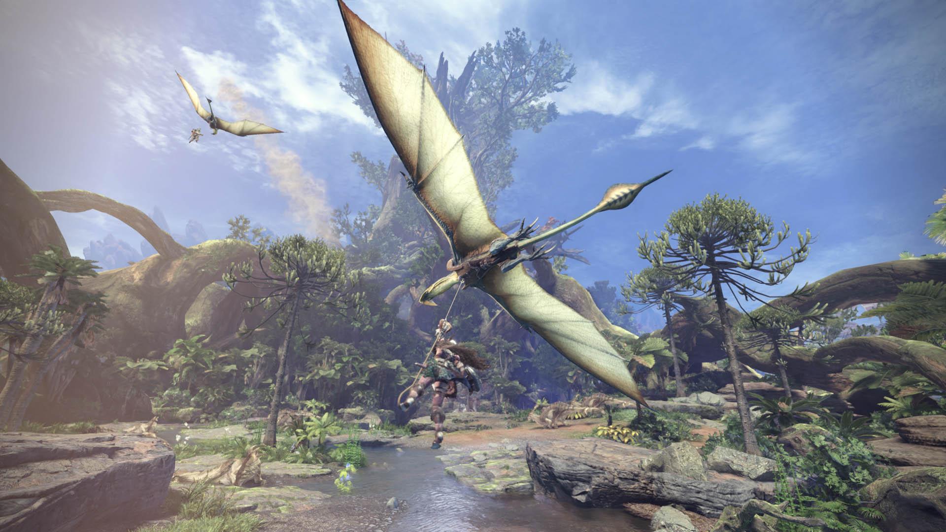 <b>(한글)몬스터 헌터 월드 액션 RPG 괴물 육성사냥</b>