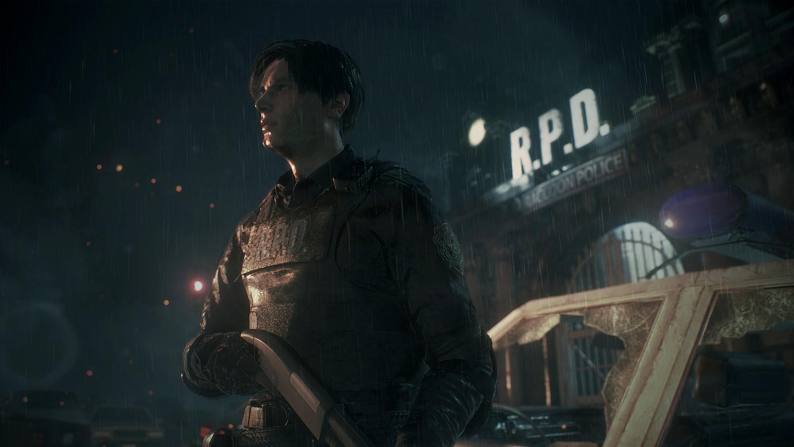 (한글)레지던트이블2RE 풀모드 신사및 의상 공포 FPS 도망 생존 귀신 좀비