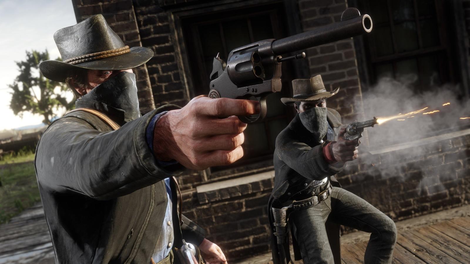 (한글)레D2 레데리 Red Dead 액션 월드 그래픽 모션 풍경 파트2