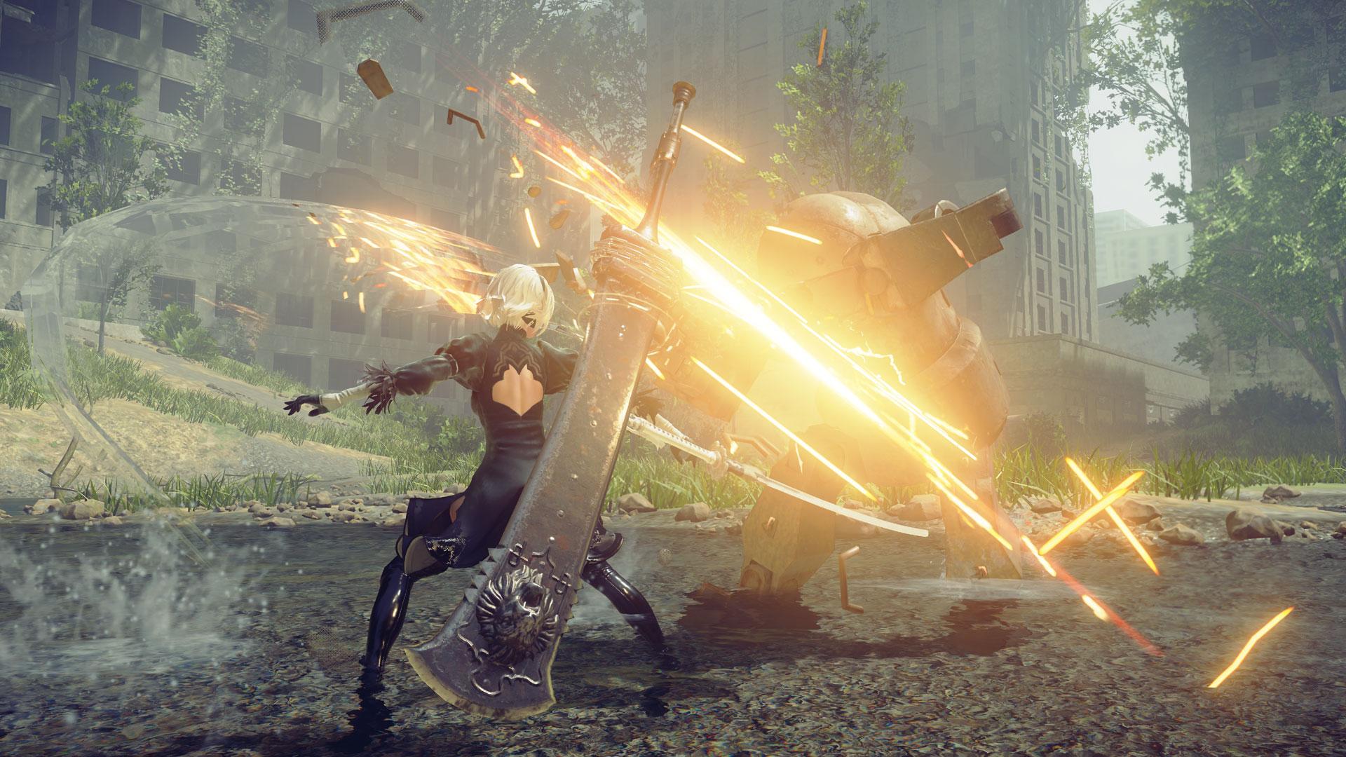 (한글)니어 오토마타(Nier Automata) 전투기계 액션 스타일리쉬 미래